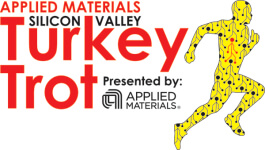 Applied Materials Silicon Valley Turkey Trot registration logo