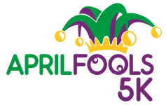April Fools 5k registration logo