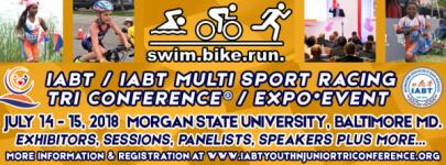 IABT Conference/Aquathon, Splash N Dash plus 5K Event  registration logo