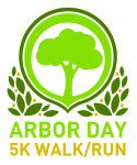Arbor Day 5K registration logo