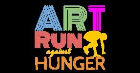 Art Run Against Hunger 5K registration logo