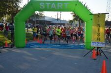 AshleyCan Pediatric Cancer Foundation 5th Annual Running Bold for the Gold Half Marathon/10K/5K/1 Mile registration logo