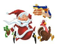 ASMC Holiday 5K Fun Run/Walk registration logo