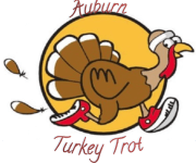Auburn Turkey Trot 5K registration logo
