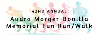 Audra Morger-Bonilla Memorial Fun Run/Walk registration logo