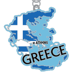 August - Race Across Greece 5K, 10K, 13.1, 26.2 registration logo