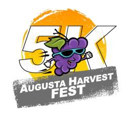 Augusta Harvest Fest 5K registration logo