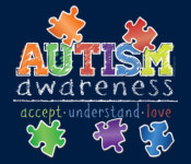 Autism Awareness 5k registration logo