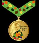 Autumn Harvest 5K registration logo