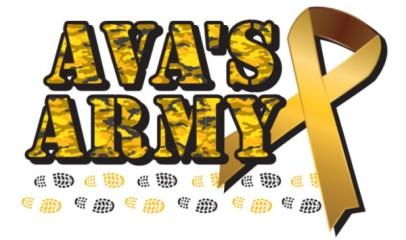 Ava's Army 5k registration logo