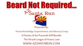 AZ Santa Run registration logo