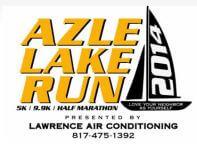 Azle Lake Run Half Marathon registration logo
