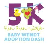 Baby Wendt Adoption Dash registration logo