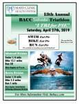 BACC Icebreaker Triathlon - I Tri for Pie  registration logo