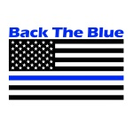 Back the Blue 5k registration logo