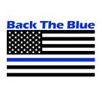 Back the Blue 5k registration logo