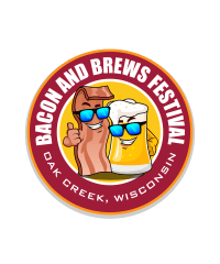 Bacon and Brews  - Bacon5Kegs registration logo