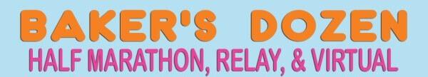 Baker's Dozen Half Marathon, Relay registration logo