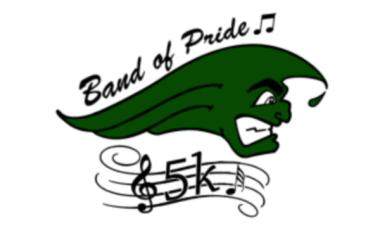 Band of Pride 5K registration logo