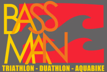 Bassman Triathlon, Duathlon, Aquabike registration logo