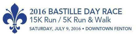 Bastille Day Race registration logo