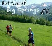 Battle at Big Springs 8k registration logo