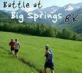 Battle at Big Springs 8k registration logo