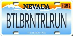 Battle Born 3.6 mi Trail Run registration logo