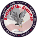 Battle of the Branches 5K Fun Run registration logo