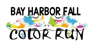 Bay Harbor Fall Color Run registration logo