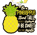 Be a Pineapple 1 Mile, 5K, 10K, 13.1, 26.2 registration logo