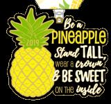 Be a Pineapple 1 Mile, 5K, 10K, 13.1, 26.2 registration logo