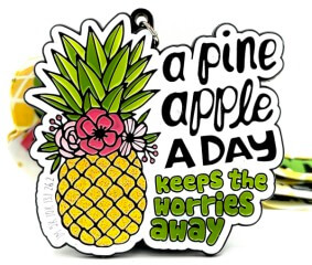 Be a Pineapple 1M 5K 10K 13.1 and 26.2 registration logo