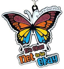 Be Kind To Your Mind 1M 5K 10K 13.1 and 26.2 registration logo
