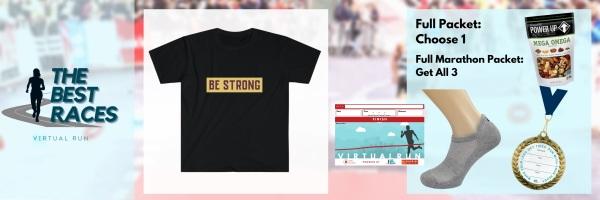Be Strong Virtual Race registration logo