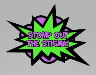 Be The Change-Stomp Out the Stigma 5K registration logo