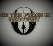 Be the Force In Recovery registration logo