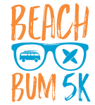 Beach Bum Fun Run registration logo