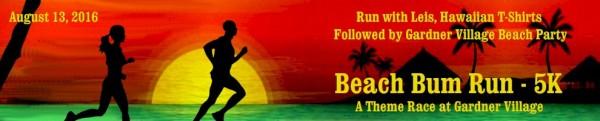 Beach Bum Run registration logo