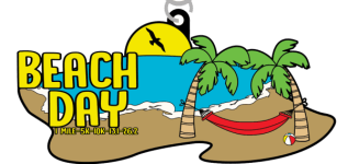 Beach Day 1 Mile, 5K, 10K, 13.1, 26.2 registration logo