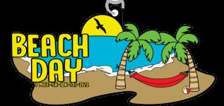 Beach Day 1 Mile, 5K, 10K, 13.1, 26.2 registration logo