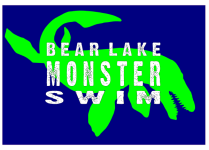 Bear Lake Monster Swim registration logo