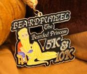 Beardpunzel - The Bearded Princess 5K & 10K - Clearance from 2016 registration logo