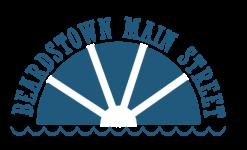 Beardstown Main Street Color Dash registration logo