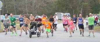 Beat Breast Cancer 5k Walk/Run registration logo