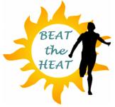 Beat the Heat 5k Fun Run registration logo