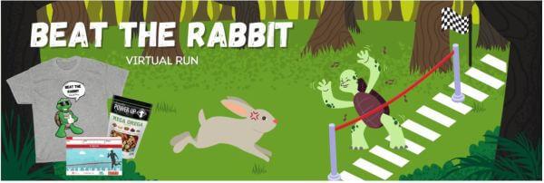 Beat the Rabbit Run Challenge registration logo