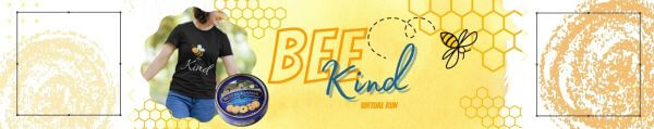 Bee Kind - Kindness Matters Virtual Race registration logo