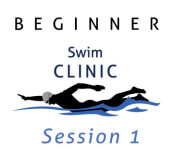 Beginner Swim Clinic - Session 1 - June registration logo