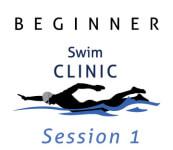 Beginner Swim Clinic - Session 1 - June registration logo